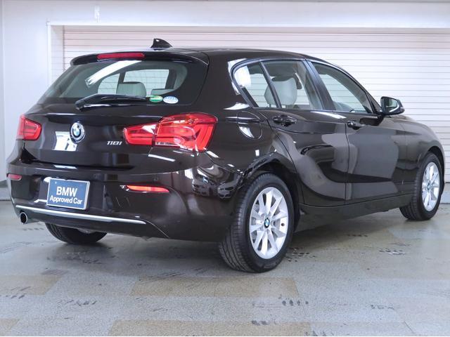 118i スタイル パーキングサポートパッケージ BMW認定中古車 1年保証 バックカメラ リヤPDC 16AW(4枚目)
