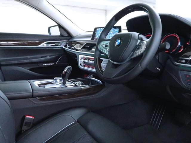 740i エクセレンス BMW認定中古車 1年保証 エクセレンス 黒革 20インチAW(3枚目)