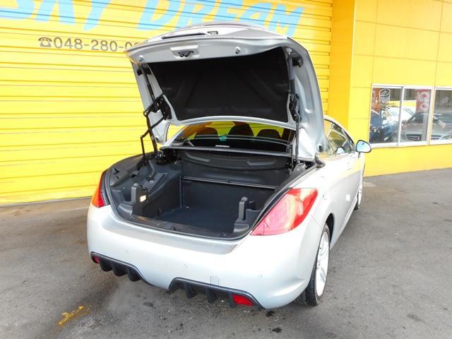 プジョー プジョー 308 CC プレミアム 6速AT HDDナビ地デジ 黒レザーシート