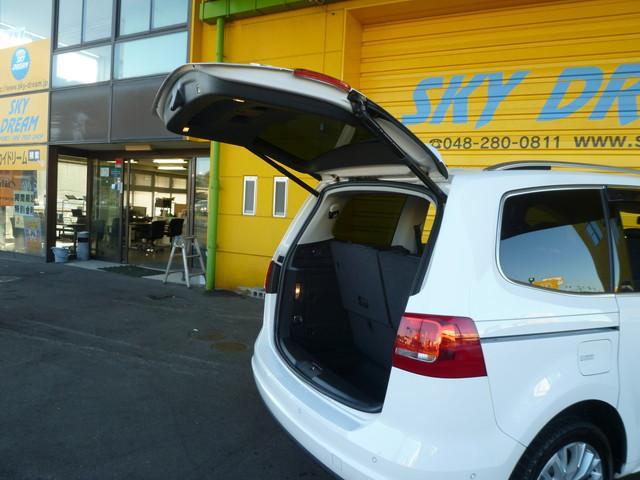 フォルクスワーゲン VW シャラン TSI ハイラインブルーモーションテクノロジー Rモニター