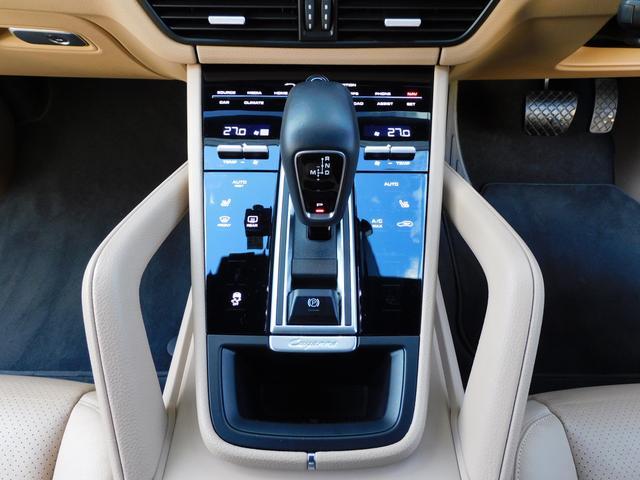 現行型 V6ツインターボ 正規D車 スポーツクロノPKG ベージュ革 シートヒーター PCMナビ(12.3インチ) サラウンドビュー&PAS ACC&LCA&LKA LEDヘッドライト エントリーD 純正21AW 禁煙 1オーナー 新車保証継承可(9枚目)