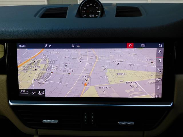 現行型 V6ツインターボ 正規D車 スポーツクロノPKG ベージュ革 シートヒーター PCMナビ(12.3インチ) サラウンドビュー&PAS ACC&LCA&LKA LEDヘッドライト エントリーD 純正21AW 禁煙 1オーナー 新車保証継承可(11枚目)