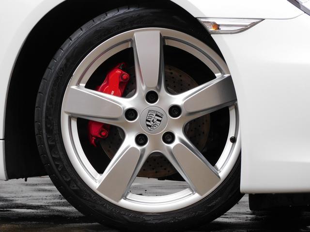 (Type981) S 3.4 左H 正規D車 7速PDK スポーツクロノPKG 黒半革 シートヒーター 純正ナビ地デジBカメラ バイキセノンHL(PDLS付) PASM 赤キャリパー 純正19インチAW 電格ミラー 禁煙車(6枚目)