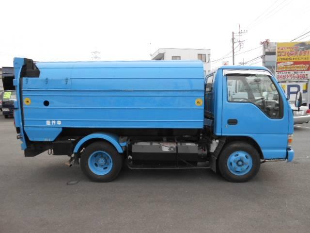 いすゞ エルフトラック ロータリーパッカー車 2t積 4.6LPG