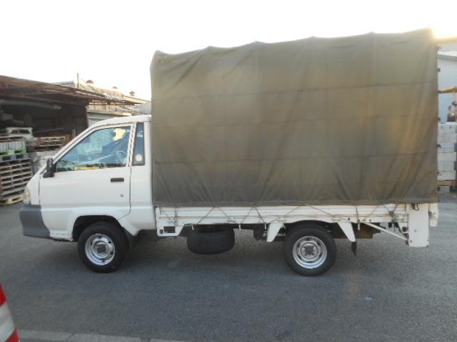 トヨタ タウンエーストラック 0.9t積幌PG付荷重300kg1.8Lガソリン車3方開