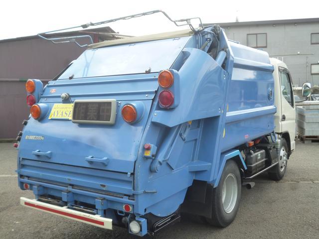 三菱ふそう キャンター フジマイティ製LP438 4.2立米プレスパッカー車5MT