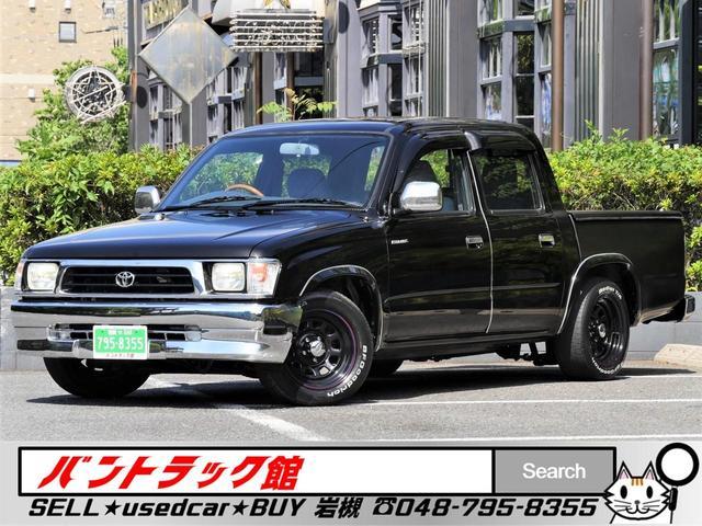 トヨタ ハイラックススポーツピック 3inchローダウンWキャブ5人乗新普通免許対応NOx適合車