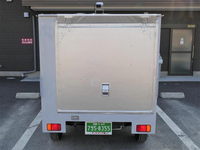 スズキ キャリイトラック 実演販売ケータリング道具車仕様ワイドオープンドア三方開AT車