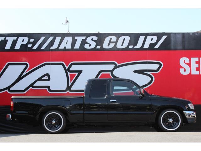 トヨタ ハイラックススポーツピック EXTキャブ ブラックデイトナ リボンタイヤ ローダウン