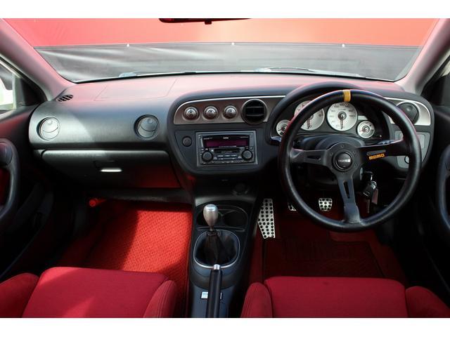タイプR 純正レカロシート 車高調 ENKEI17インチAW momoステアリング(4枚目)