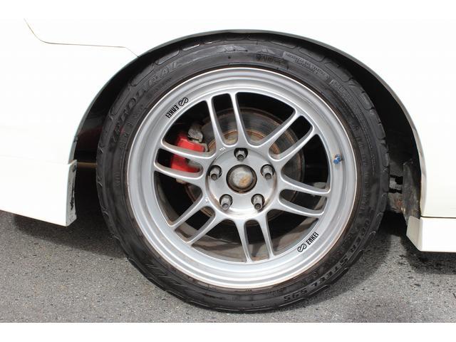 タイプR 純正レカロシート 車高調 ENKEI17インチAW momoステアリング(15枚目)