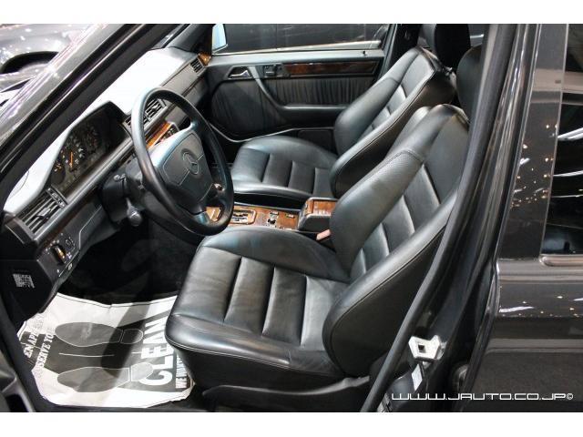 500E 整備記録簿付 黒革内装 AMG仕様 新車並行(13枚目)