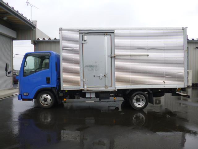 いすゞ エルフトラック ロングアルミバン
