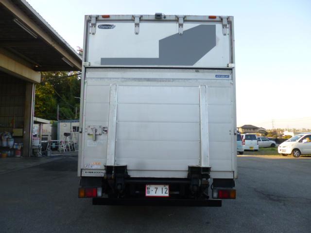 いすゞ エルフトラック ワイドロングアルミバンパワーゲート付