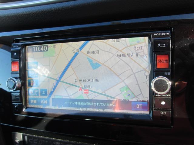 日産 エクストレイル 20X4WD 7人 純正ナビ 地デジTV 純正フォグランプ
