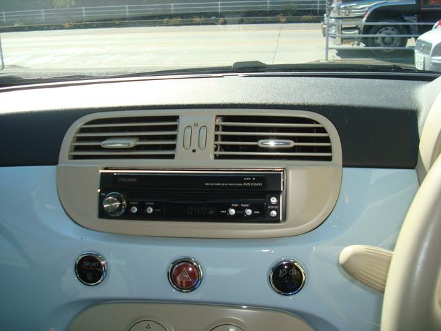 フィアット フィアット 500 1.4 16V ラウンジ 正規ディーラー車 HDDナビ