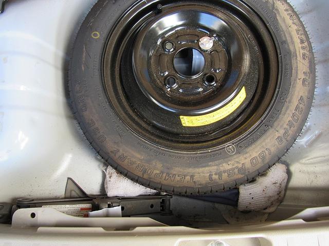 工具、スペアタイヤ空気圧もチェック済で安心。