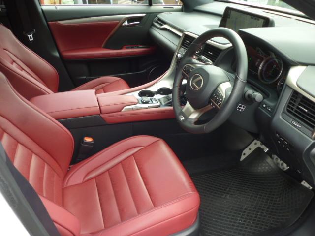 レクサス RX RX450h Fスポーツ パノラマルーフ 赤革 20AW