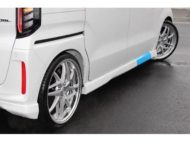 Lターボ テイン車高調・リザルタード17AW・両側自動ドア・LEDヘッドライト・無限フロントスポイラー・前後マッドガード(5枚目)