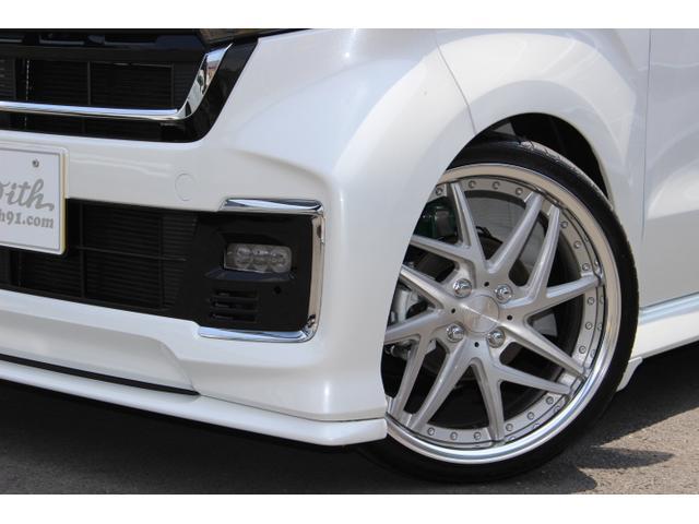 Lターボ テイン車高調・リザルタード17AW・両側自動ドア・LEDヘッドライト・無限フロントスポイラー・前後マッドガード(22枚目)