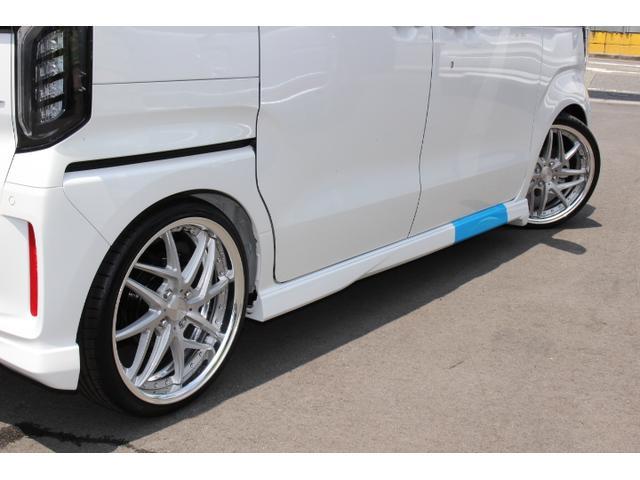 Lターボ テイン車高調・リザルタード17AW・両側自動ドア・LEDヘッドライト・無限フロントスポイラー・前後マッドガード(27枚目)