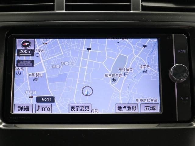 S メモリ-ナビ キーフリー CDチューナー ナビTV アルミ ETC 記録簿 イモビライザー ABS 横滑り防止装置 AUX 運転席エアバッグ スマキ パワステ パワーウインドウ フルセグ地デジ AAC(5枚目)