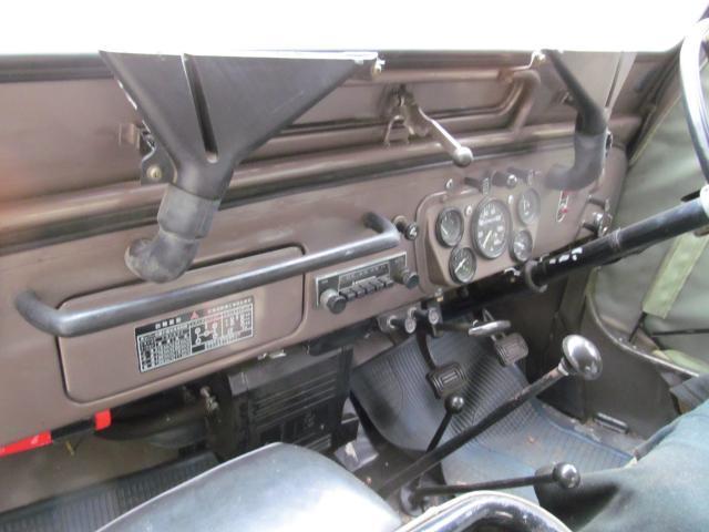 三菱 ジープ J52 ナローボディー 2400G