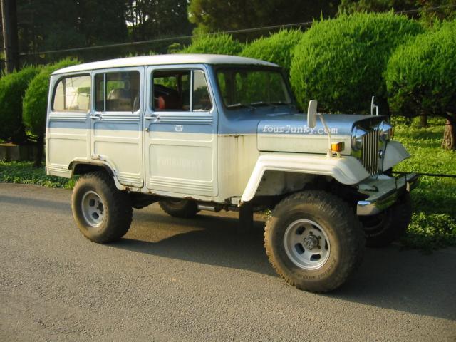 三菱 ジープ 4WD ロングVAN 2600G