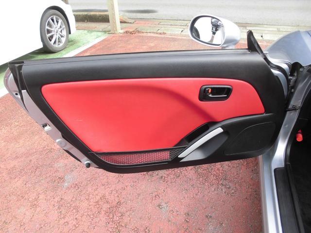 アクティブトップ 赤レザーシート シートヒーター オートマ 電動開閉動作確認済み モモステアリング DVDナビ2002年データ(26枚目)