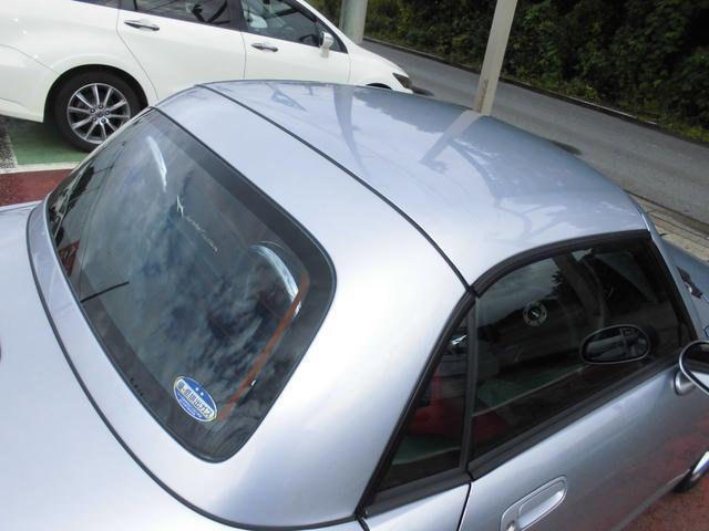 アクティブトップ 赤レザーシート シートヒーター オートマ 電動開閉動作確認済み モモステアリング DVDナビ2002年データ(57枚目)