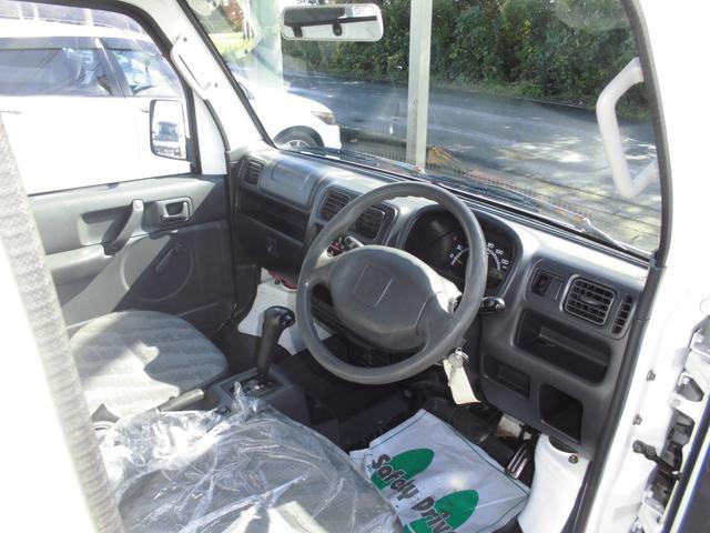 KCエアコン・パワステ ボタン切り替え4WD オートマ エアコン パワステ 運転席・助手席エアバッグ 荷台マット ゲートアッパーガード 車検令和4年8月29日迄(12枚目)