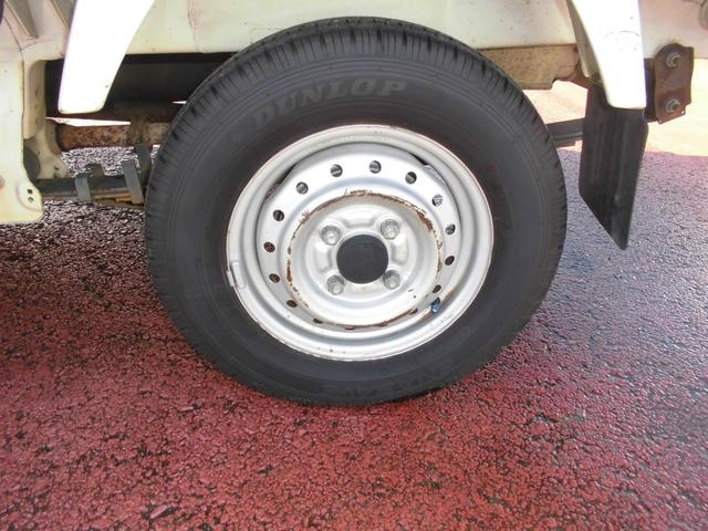 KCエアコン・パワステ ボタン切り替え4WD オートマ エアコン パワステ 運転席・助手席エアバッグ 荷台マット ゲートアッパーガード 車検令和4年8月29日迄(33枚目)