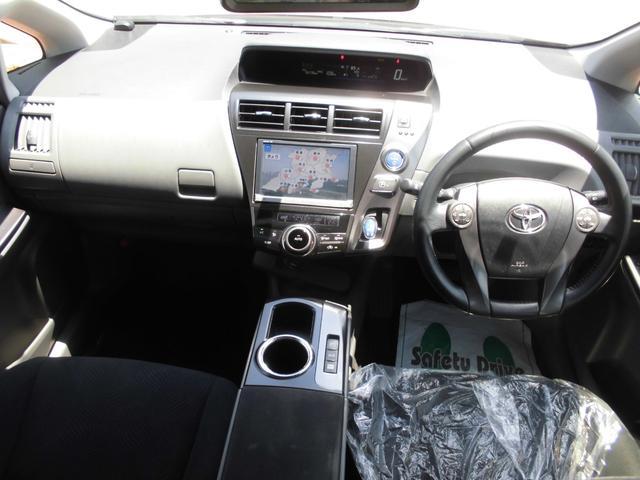 S チューン ブラック 8インチナビフルセグ地デジ バックカメラ ETC LEDヘッドライト スマートキー ミラー一体型ドライブレコーダー 純ミラー一式有り 7人乗り バリ山タイヤ(9枚目)