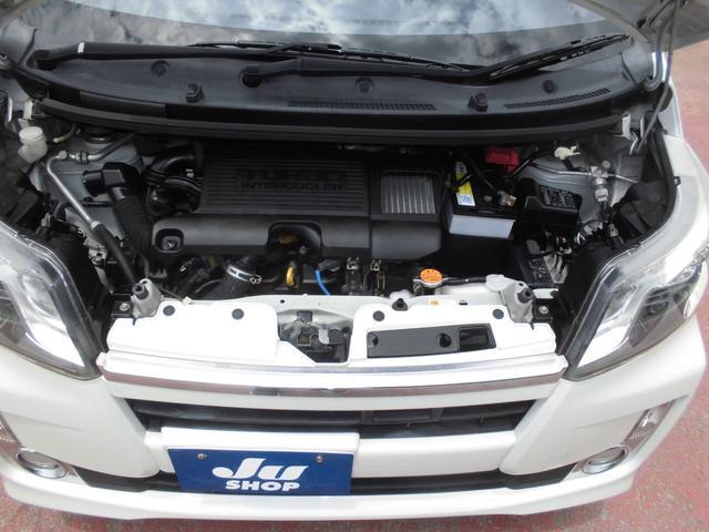 カスタム RS SA HDDナビ地デジ バッカカメラ ETC スマートキー LEDライト モモステアリング 社外スピーカー バリ山タイヤ(58枚目)