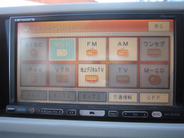 トヨタ パッソ X ユルリ HDDナビTV