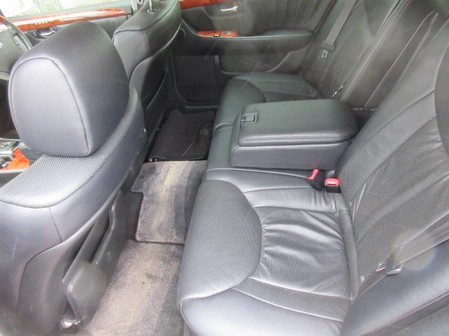 トヨタ セルシオ eR仕様 純正エアロ 車高調