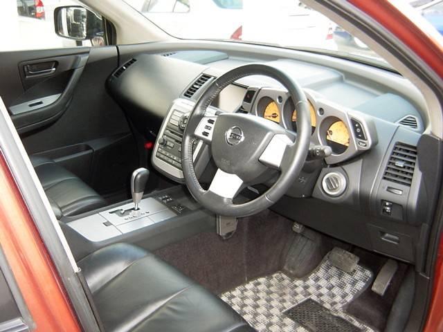 日産 ムラーノ 350XV 黒革シート 純正ナビ サイドバックカメラ HID