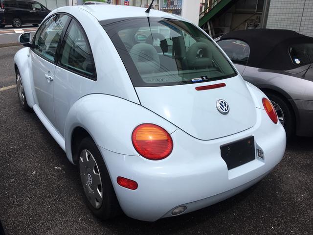 フォルクスワーゲン VW ニュービートル パステル750台限定色