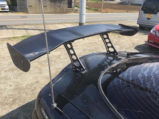 マツダ RX-7 タイプRZ GTウイング 17AW エアロ ローダウン
