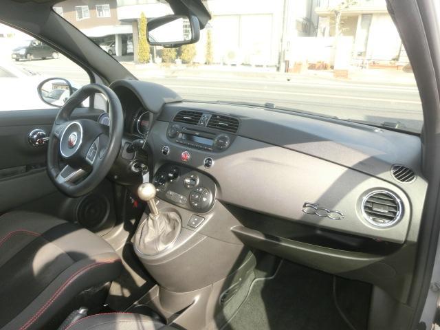 アバルト アバルト アバルト595 コンペティツィオーネ 左ハンドル マニュアル車 TFT液晶