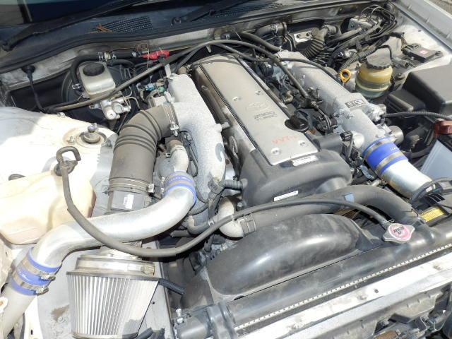 トヨタ クレスタ ルラーンG ターボ 18AW 車高調 マフラー 前置きIC