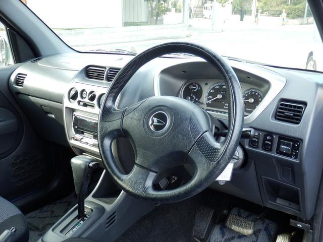 ダイハツ テリオスキッド カスタムX ターボ 4WD エアロ アルミ キーレス