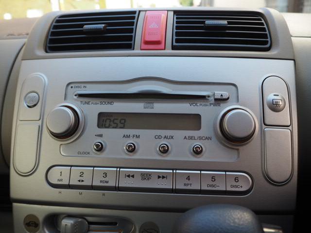 ホンダ ライフ C キーレス 純正CD&AUX付 Wエアーバック ABS