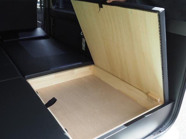 カスタムターボRS 車中泊 軽キャンピング仕様 蓄電池(9枚目)