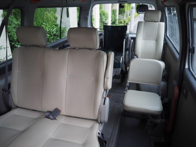 チェアキャブ 福祉車両 車椅子2名+8名乗 リヤー電動リフト(9枚目)