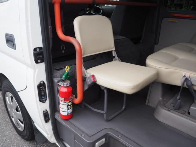 チェアキャブ 福祉車両 車椅子2名+8名乗 リヤー電動リフト(10枚目)
