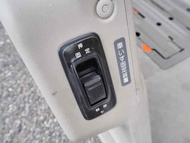 チェアキャブ 福祉車両 車椅子2名+8名乗 リヤー電動リフト(15枚目)