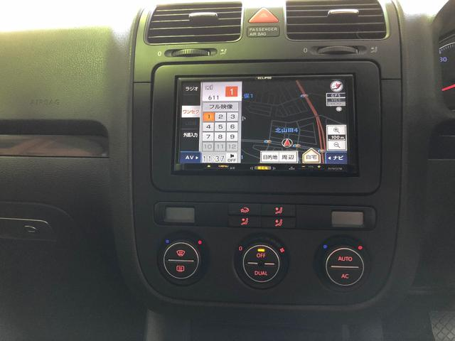 フォルクスワーゲン VW ゴルフ GT TSIパドルシフト ETC クルコン