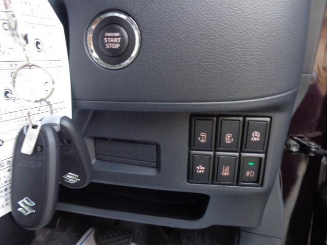 スズキ スペーシアカスタム XS 未使用車 デュアルブレーキシステム ナノイー