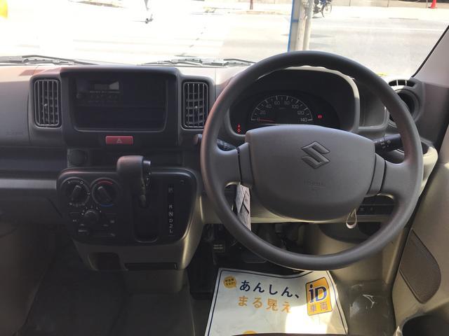 PAリミテッド 軽自動車 自動ブレーキ インパネ4AT(10枚目)